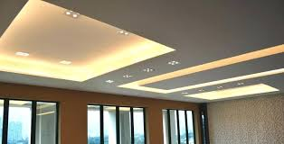 modern spot lighting. Spot Lights Ceiling Side View Of Modern Design In Living Hall With Led And Cove Lighting T