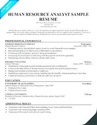 Human Resource Resume Sample Hr Resume Template Human Resource Resume Samples Hr Resume Examples