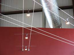 discretion brewery at 2703 41st avenue in soquel has installed an led cable lighting system that is low energy functional and fun to look at