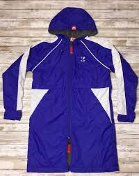 New Tyr Alliance Youth Parka Size Small 7 8 Royal Blue White