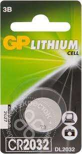 Купить <b>Батарейка GP Lithium</b> Cell <b>CR2032</b>-8C1 с доставкой на ...