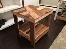 pretty round end table diy starrkingschool plans wood top half woodworking design free nightstand night ideas