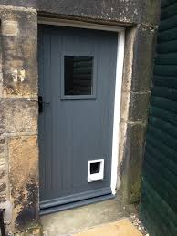 Front Door In Farrow And Ball Down Pipe Poinsettia Drive - Farrow and ball exterior colours