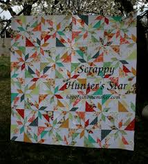 Scrappy Hunter's Star Tutorial (a layer cake friendly pattern ... & scrappyhuntersstarquilt Adamdwight.com