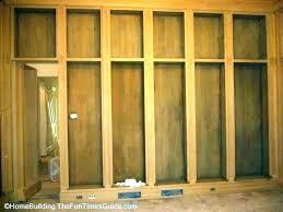 shelf door bookcase closet shelf door build shelf door