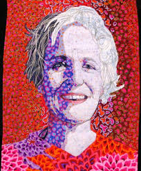 45 best Portrait Quilts images on Pinterest | Embroidery, Textiles ... & another portrait quilt -- one day I'm gonna do one of these : Adamdwight.com