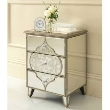 mirrored side table. Mirrored Side Tables End Table With Drawer Pier One Night Stands Mirror Bedside Melbourne M