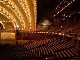 Auditorium Theater Chicago Seating Chart Auditorium Theatre Of Roosevelt University Reviews Chicago