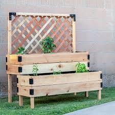 diy tiered raised garden bed anika s
