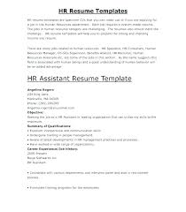 Human Resources Assistant Resume Examples Enchanting Cover Letter Examples Human Resources Hr Assistant Cover Letter
