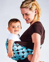 Wholesale-Baby Carrier Brand New Wrap Nautical Reversible Pouch ...