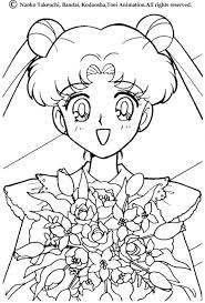 Small Picture Coloring Page Sailor Moon Coloring Pages Coloring Page and