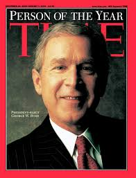 「2001 bush jr elected president」の画像検索結果