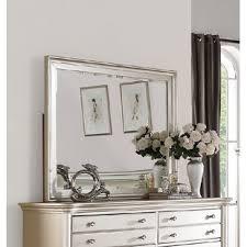 dresser with mirror. Wonderful Mirror Tiya Rectangular Dresser Mirror With G