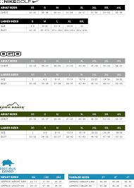 Nike Golf Apparel Size Chart Coolmine Community School