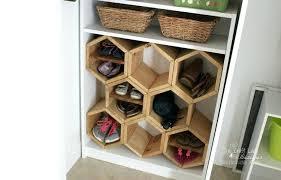diy shoe organizer diy shoe storage bench plans