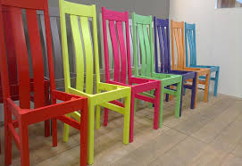 painted wooden dining chairs uk chair design ideas