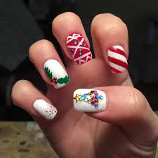 Decorative Nail Art Designs 100 Christmas Nail Designs Ideas Design Trends Premium PSD 77