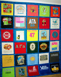 T Shirt Quilt Pattern With Different Size Blocks Best The Quilting Rack Custom TShirt Quilts And Baby Clothes Quilts