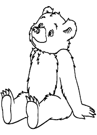 Little Bear Coloring Pages Free Colouring Pages #10856