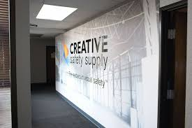 office wall murals. creative safety products supply wall m office murals