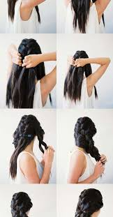 Easy Long Hairstyles 6 Inspiration Ideas Frightening Hairstyles That Are Easy To Do Cute And Braid