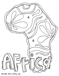 Coloring Page Binder Cover Geography Themed Coloring Page Could Be Used As A Binder Cover Page