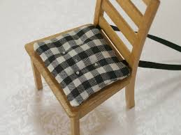 modern concept kitchen chair cusions with dollhouse miniature kitchen chair cushions black by