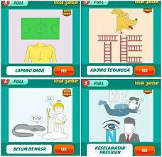 Berikut kunci jawaban brain out lengkap terbaru mulai dari level 1 hingga level 221 dengan bahasa indonesia dan cara yang mudah dimengerti. Kunci Jawaban Tebak Gambar Level 7 Lengkap Serbagratis95