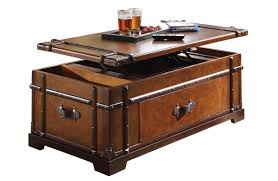 best wooden trunk coffee table with large trunk coffee table
