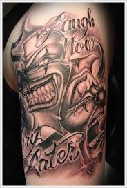 Clown Tattoo Designs Ideas