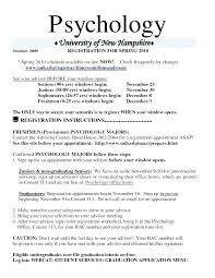 Psychology Resume Sample Resume Examples Real Resume Examples All