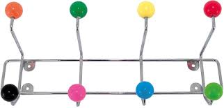 Coloured Ball Coat Rack Present Time Saturnus Coat Rack MultiColour Coat Racks And Stands 64