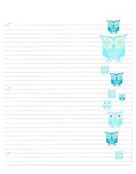 Kindergarten Lined Paper Template Wide Ruled Paper Template Printable Lined Notebook Paper Free Simple