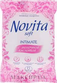 """<b>Novita</b> Soft - Влажные <b>салфетки</b> """"<b>Intimate</b>"""": купить по лучшей цене ..."""
