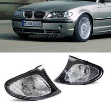 2002 Bmw 325i Fog Lights Details About Pair For 02 05 Bmw E46 3 Series 4dr Sedan Corner Lights Crystal Clear Lens