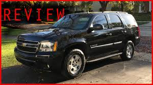 2007 Chevy Tahoe Review - YouTube