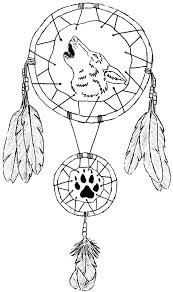 Dreamcatcher Printable Coloring Pages At Getcoloringscom Free