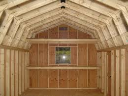 storage shed plans with loft