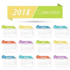 Calender Design Template 2018 Calendar Design Template For Free Download On Pngtree