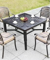 outdoor aluminum lawn patio furniture