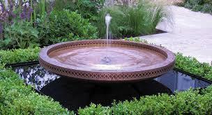 copper fountain bowl