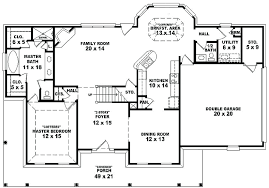 4 bedroom country house plans unusual 3 one story 4 bedroom country house plans