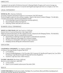 Paralegal Resume Objective Examples Paralegal Resume Google
