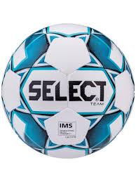 <b>Мяч футбольный Select</b> Team IMS №5 белый/синий/черный ...