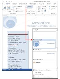 Word Resume Tips: Using Style Sheets, Shapes And Text Boxes For A ...
