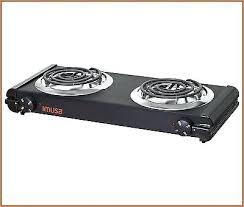countertop electric burner portable electric burner double stove hot plate kitchen countertop electric burner