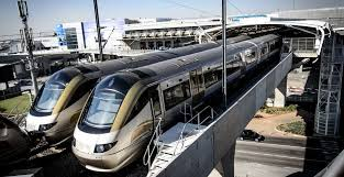 Gautrain Ticket Vending Machines Gorgeous Iron Horses Romantic Journeys Discovering South Africa By Train