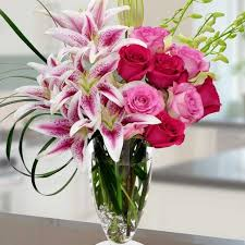 florist in tulsa flower delivery a gorgeous design of all her favorites aromatic lilies