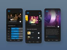 Online Mobile TV App by Tomas Kos on Dribbble
